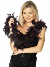 Black Feather Boa 1.8m
